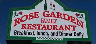 Illuminated Signs - Rose Garden Family Restaurant