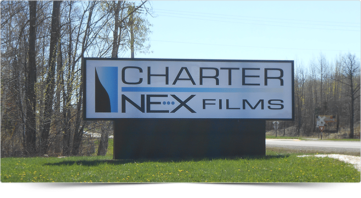 Illuminated Sign - Charter NEX Films