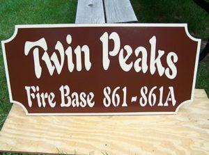 Twin Peaks Fire Base