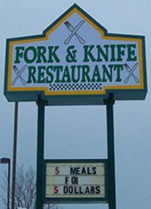 Fork & Knife Restaurant