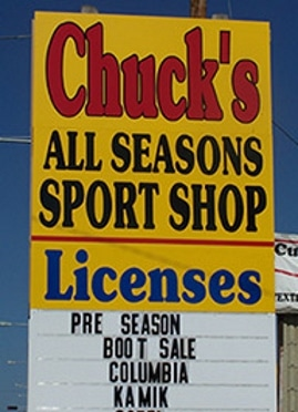 Chuck's All Seasons Sport Shop