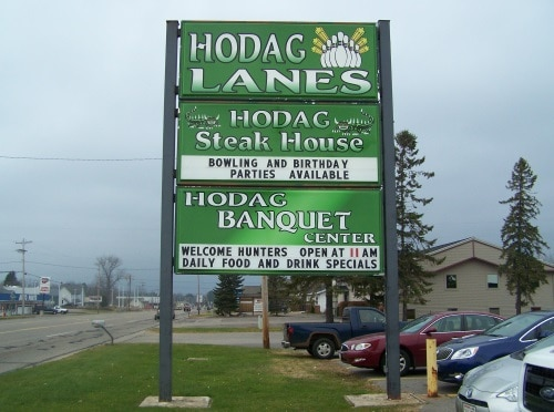 Hodag Lanes - Steak House - Banquet Center - Rhinelander, Wisconsin